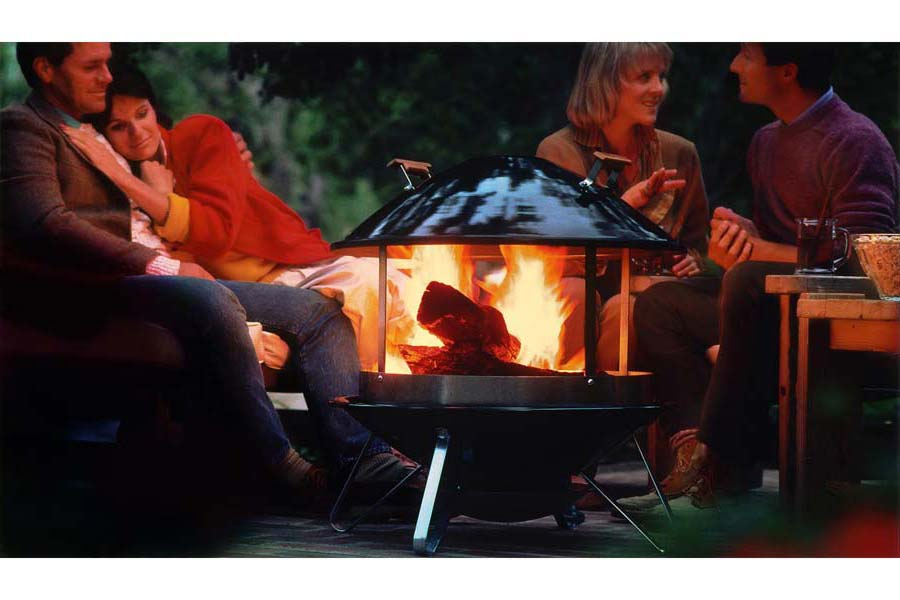 Weber Wood Burning Fireplace Fire Pit