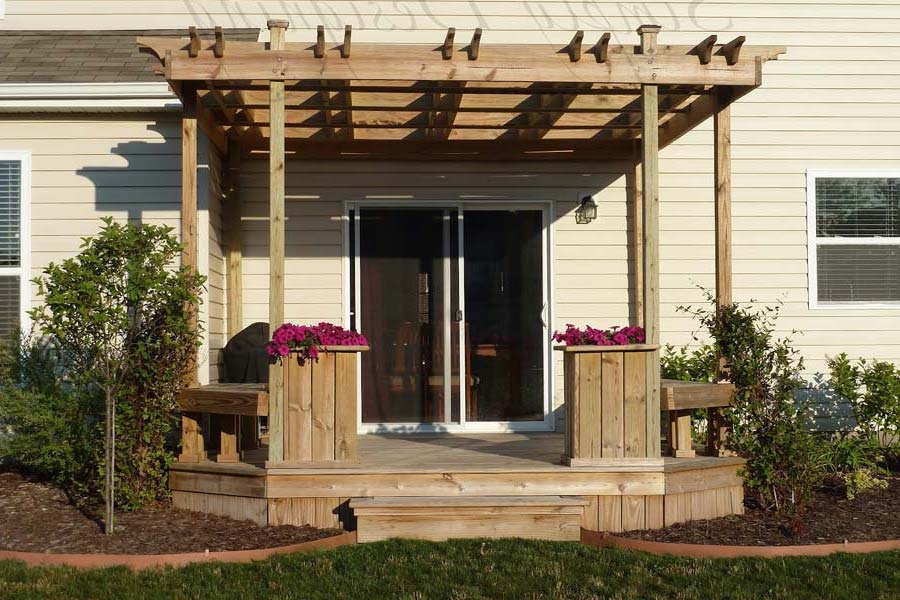 What Is A Pergola Deck