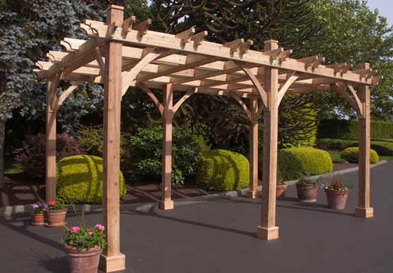 Pergola Kits Intend To Protect Your Outdoor Environment From Sun And Rain