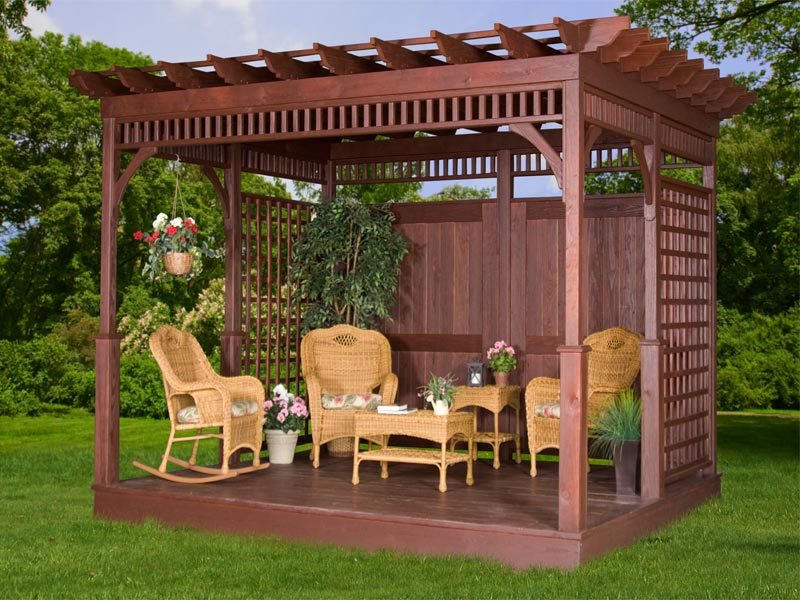 Wooden Pergola Kits Uk