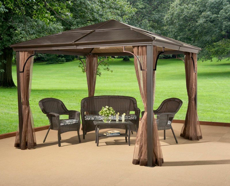 Costco breeze pergola