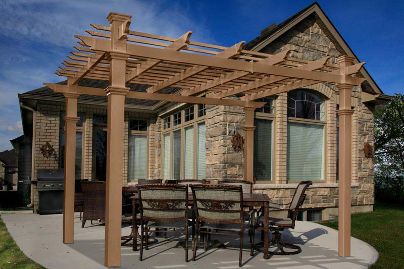 Pergola kits costco uk