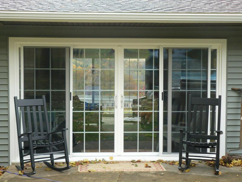 8 Foot Sliding Glass Patio Doors