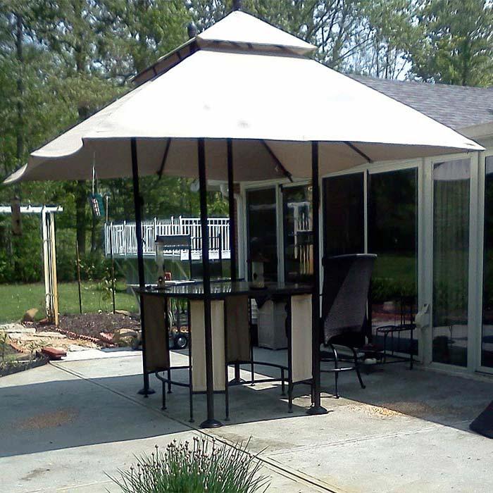 9′ Patio Umbrella Replacement Canopy