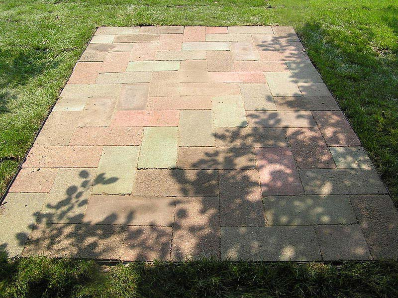Cement Patio Blocks