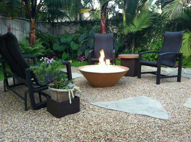 Custom Backyard Fire Pits