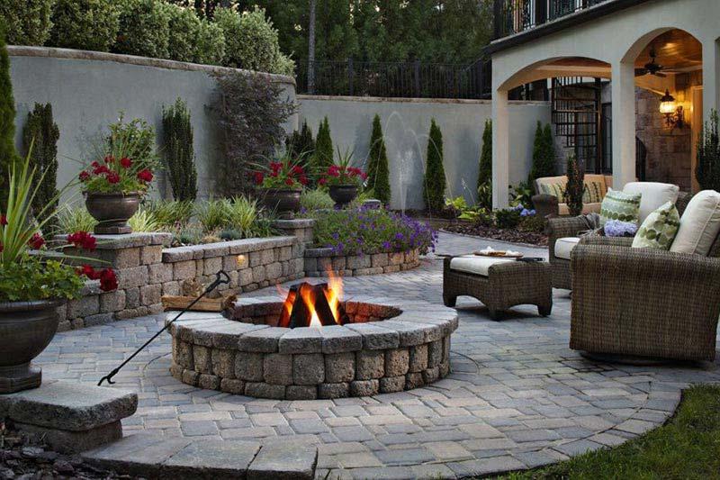 Custom Built Outdoor Fire Pits