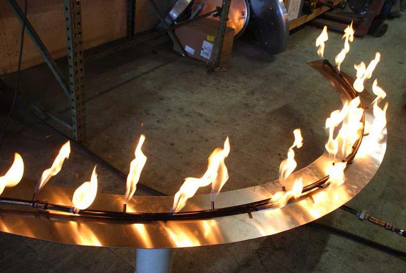 Custom Fire Pit Burners