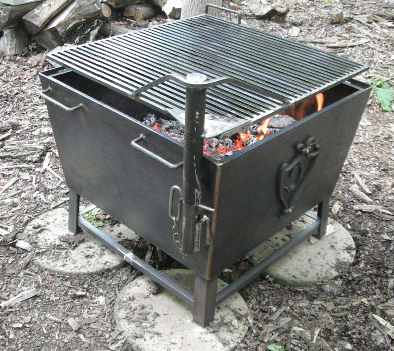 Custom Fire Pit Grates