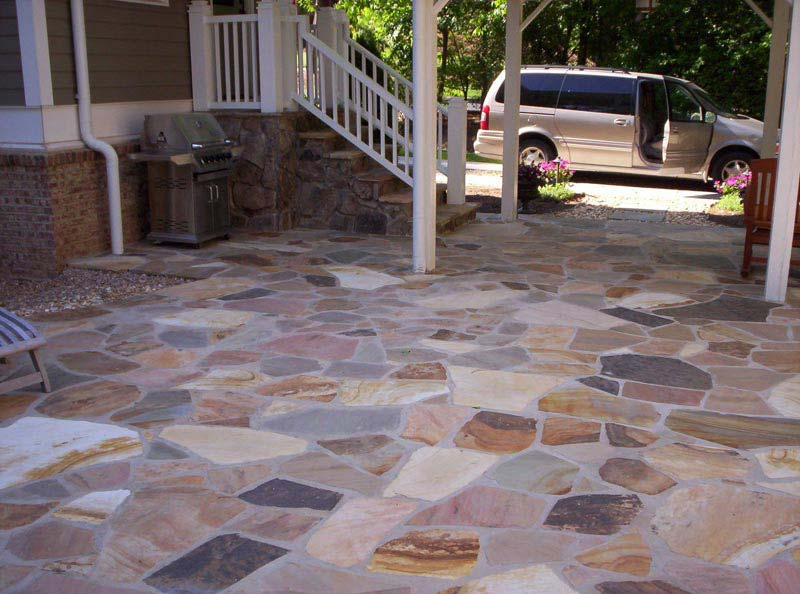 Flagstone Patio Designs Images