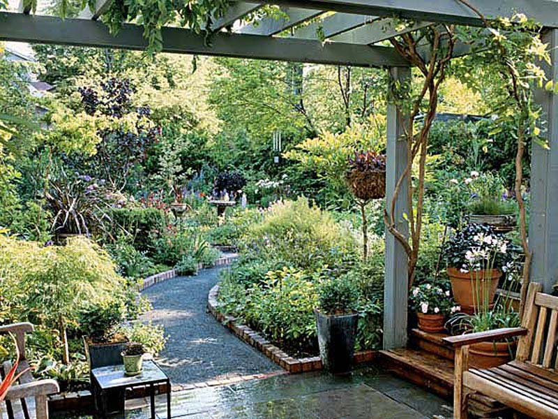 Garden Entrance Pergola