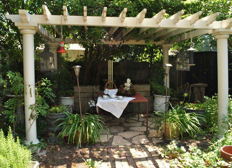 Garden Oasis Pergola Canopy Replacement