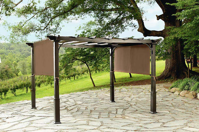 Garden Oasis Pergola With Canopy