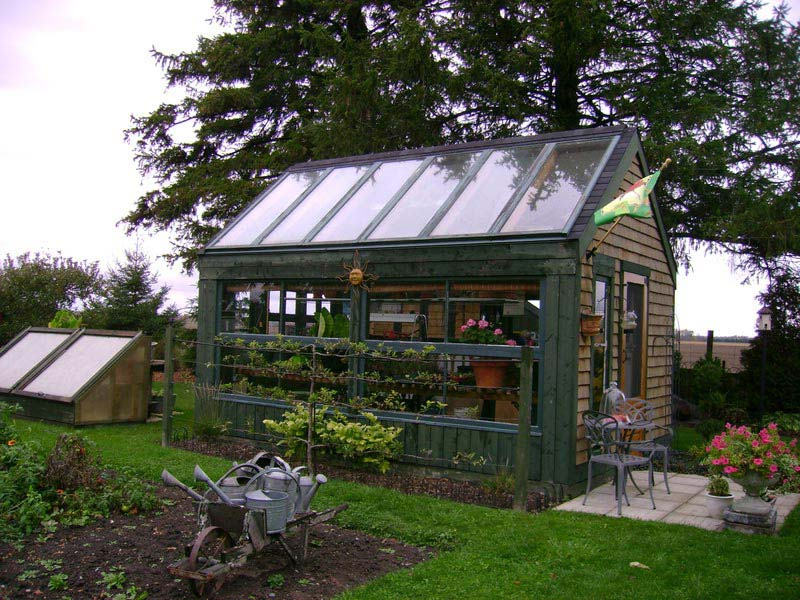 How To Build A Patio Greenhouse