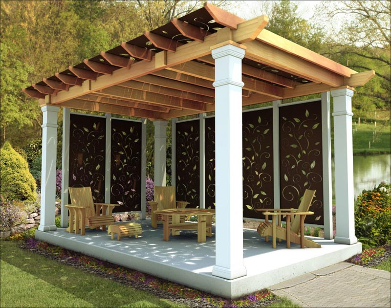 How To Make A Patio Pergola