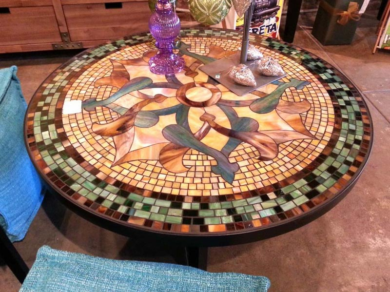 Making A Mosaic Patio Table