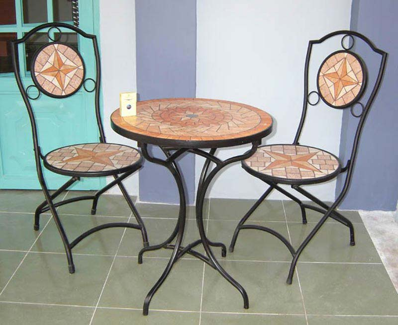 Mosaic Patio Table And Chairs