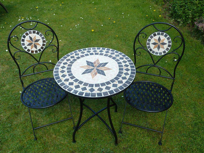 Mosaic Patio Table Xi