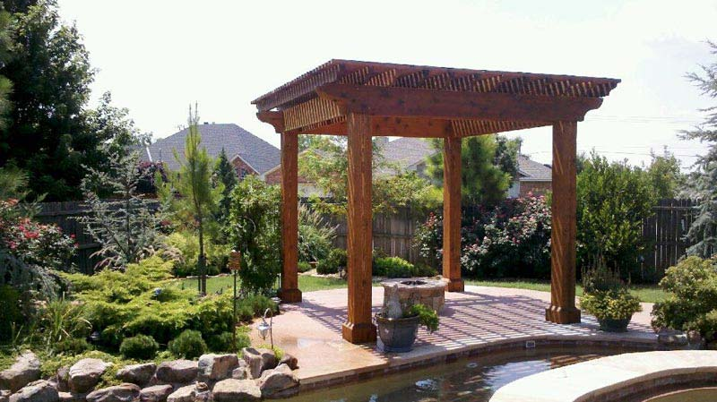 Outdoor Pergola For Creating Shady And Elegant Ambience