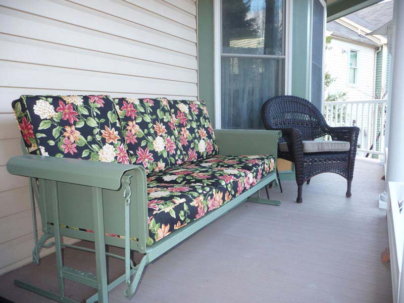 Patio Glider Cushions Replacement