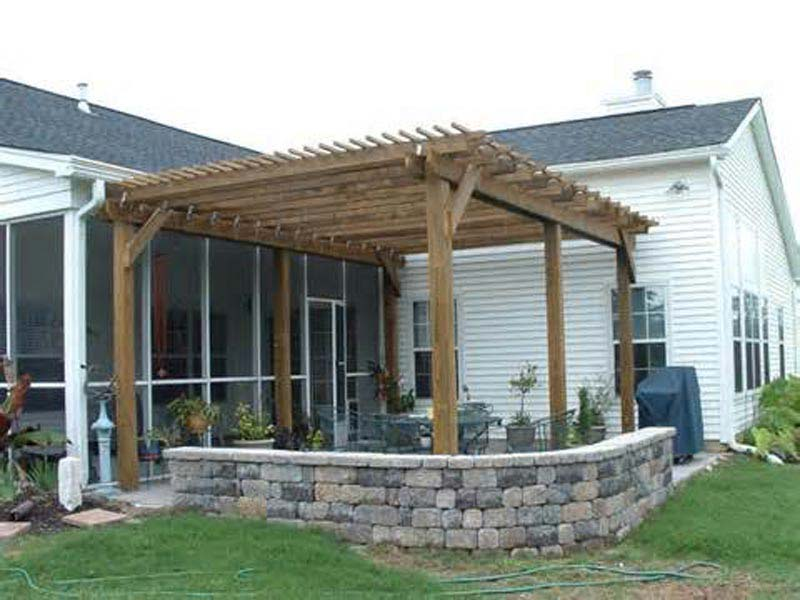 Patio Pergola Wood