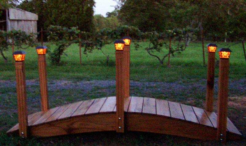 Patio Solar Lights Red