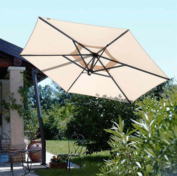 Patio Umbrella Stand Cast Iron