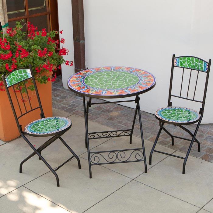 Rst Outdoor Bistro Patio Furniture 3 Piece