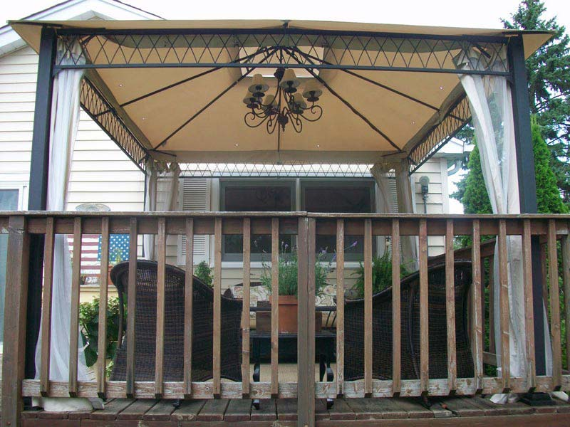 These Things Might Help: Cool and Fashionable Patio Gazebo