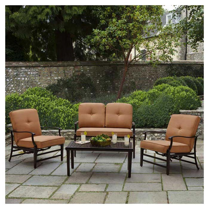 Strathwood Patio Furniture With Fire