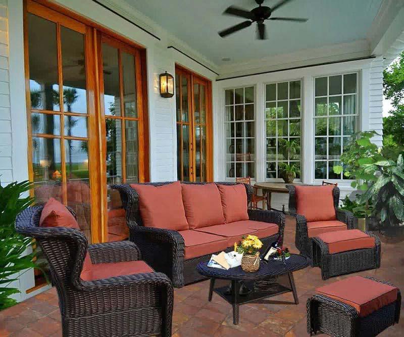 Wicker Patio Furniture Sets Y Repeticiones