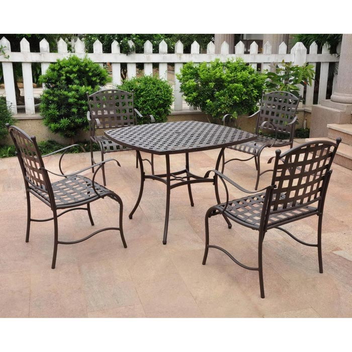 Wrought Iron Patio Furniture Foot Pads
