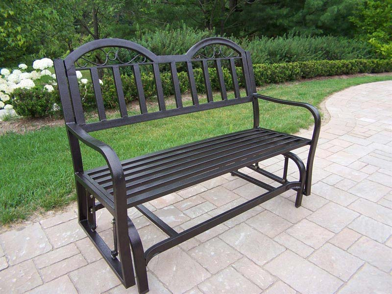 Wrought Iron Patio Furniture Gliders