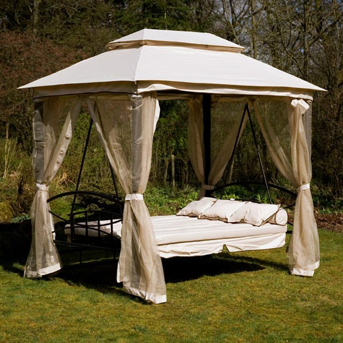 Pergola swing bed stand