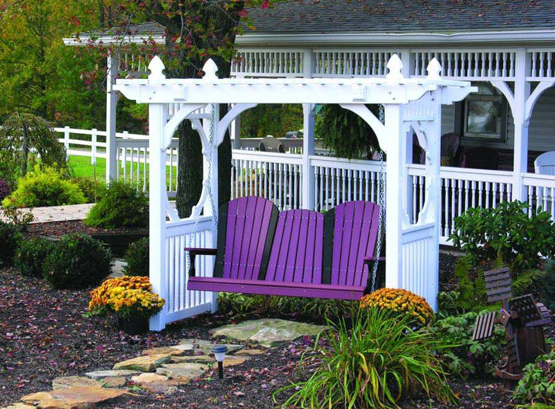 Pergola Swing: Funny Twist In Your Garden