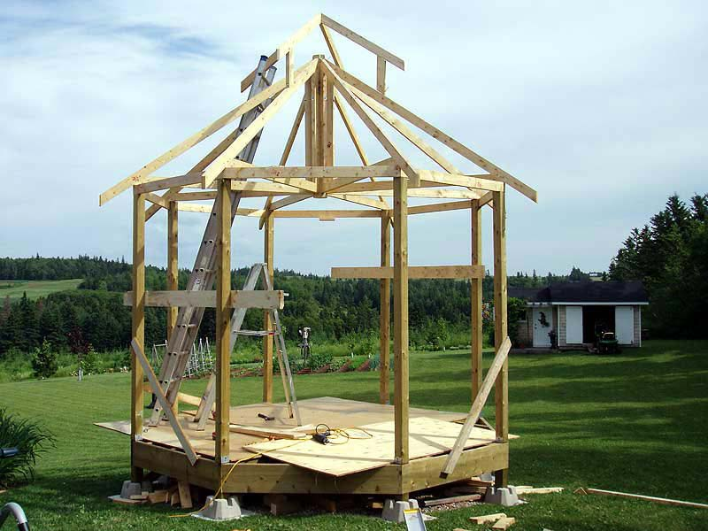 Build Gazebo Roof
