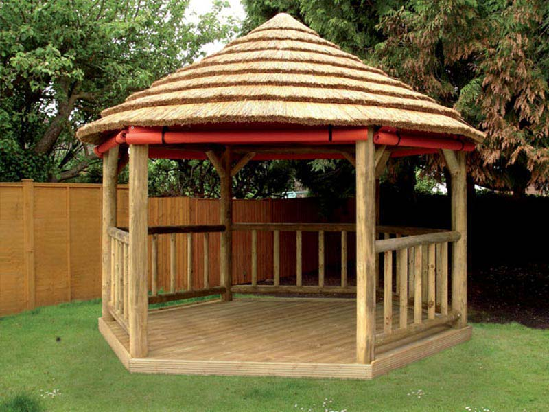 Building A Simple Wooden Gazebo