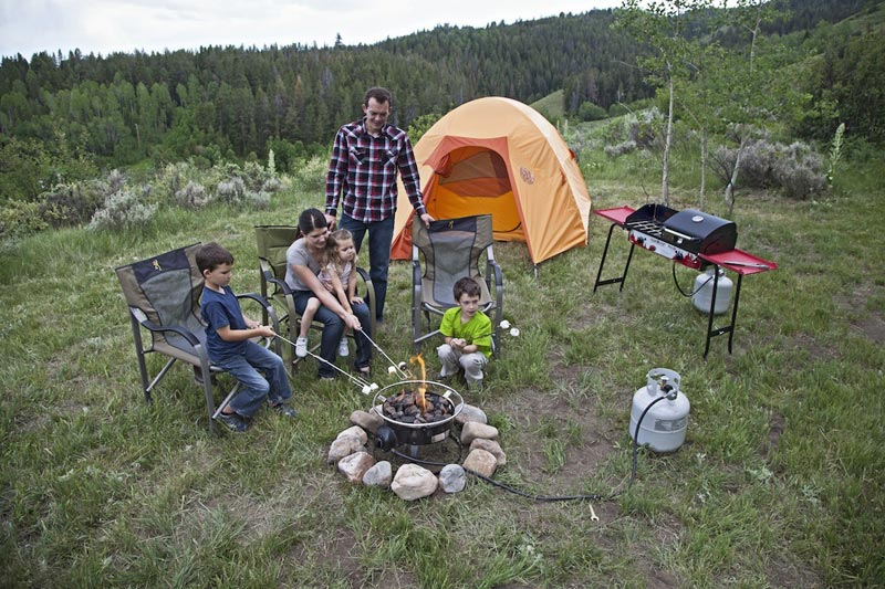 Camping Fire Pit Designs