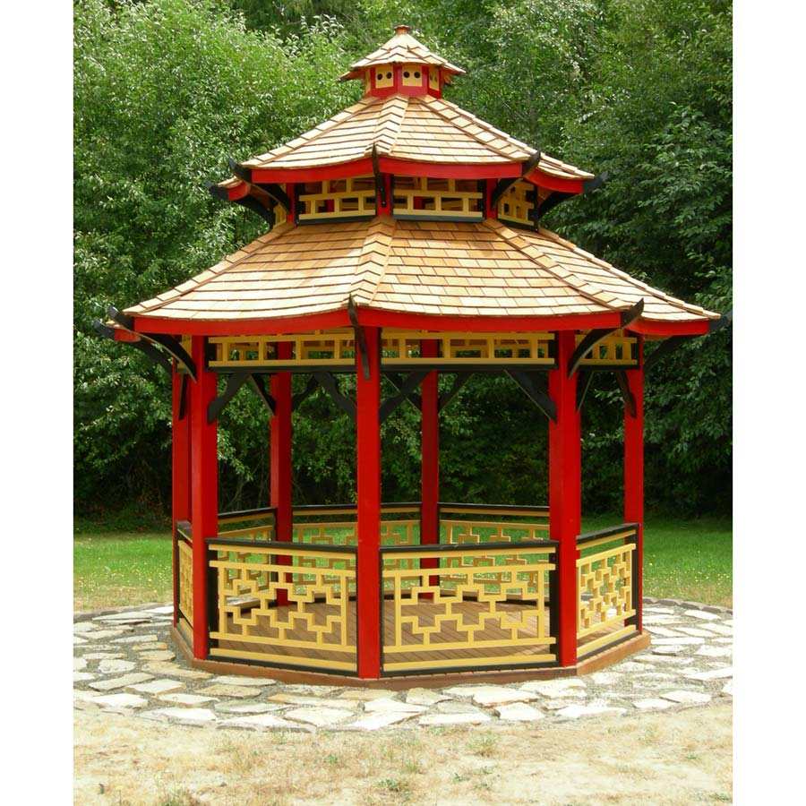 Chinese Gazebo Designs