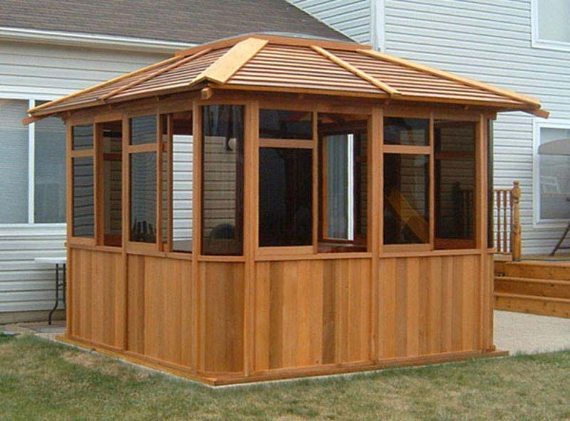 Enclosed Gazebo Kits