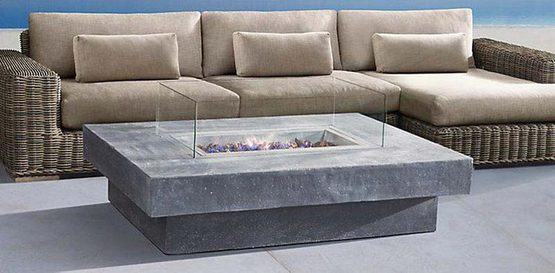 Fire Pit Coffee Table Restoration Hardware
