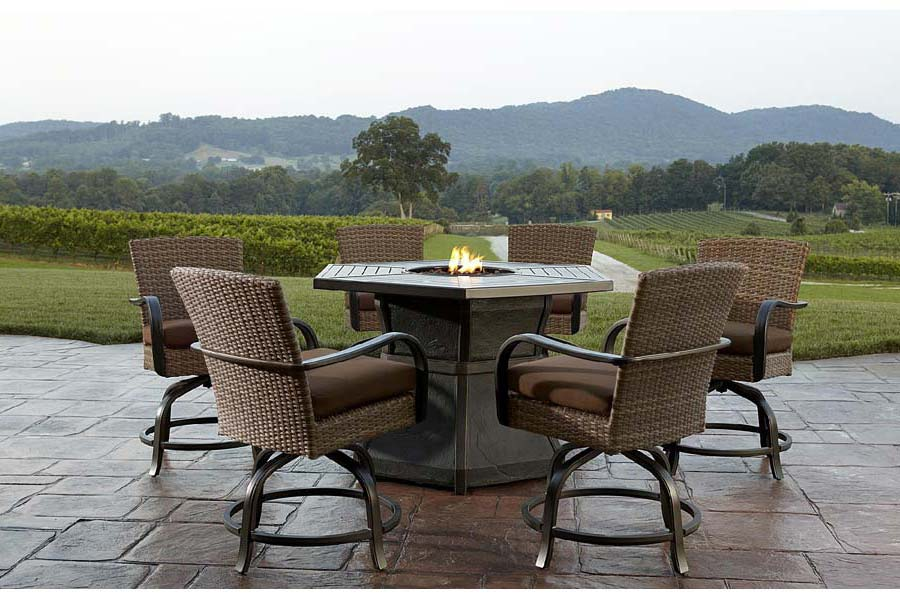 Fire Pit Table And Chair Set