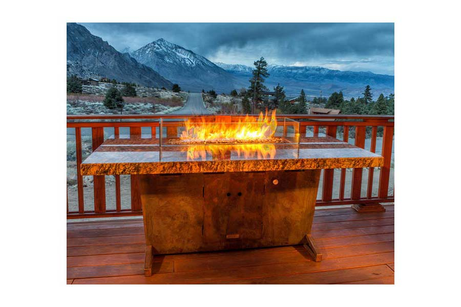 Fire Pit Table Patio Furniture