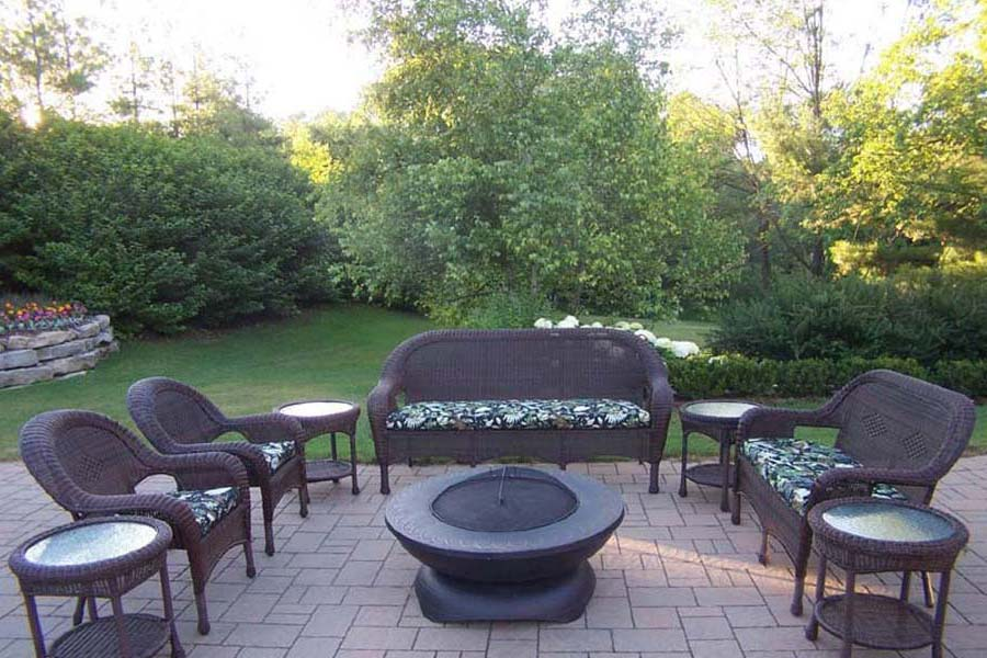 Fire Pit Table Set Sale