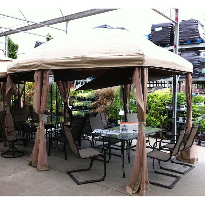 Gazebo Canopy Home Depot
