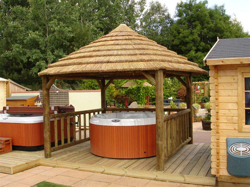 Hot Tub And Gazebo Package