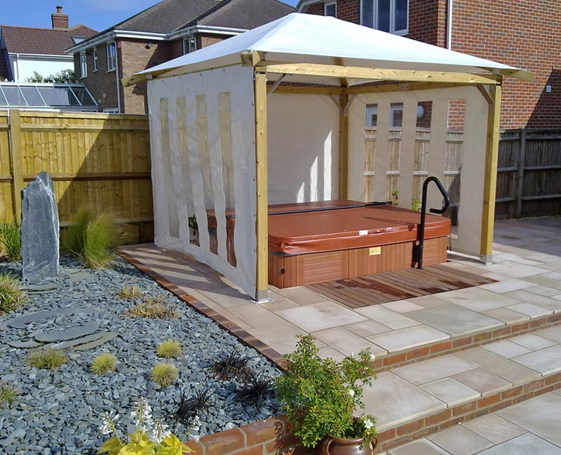 How To Build A Hot Tub Gazebo