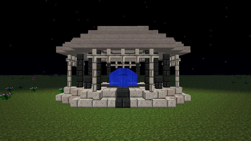How To Make A Gazebo In Minecraft