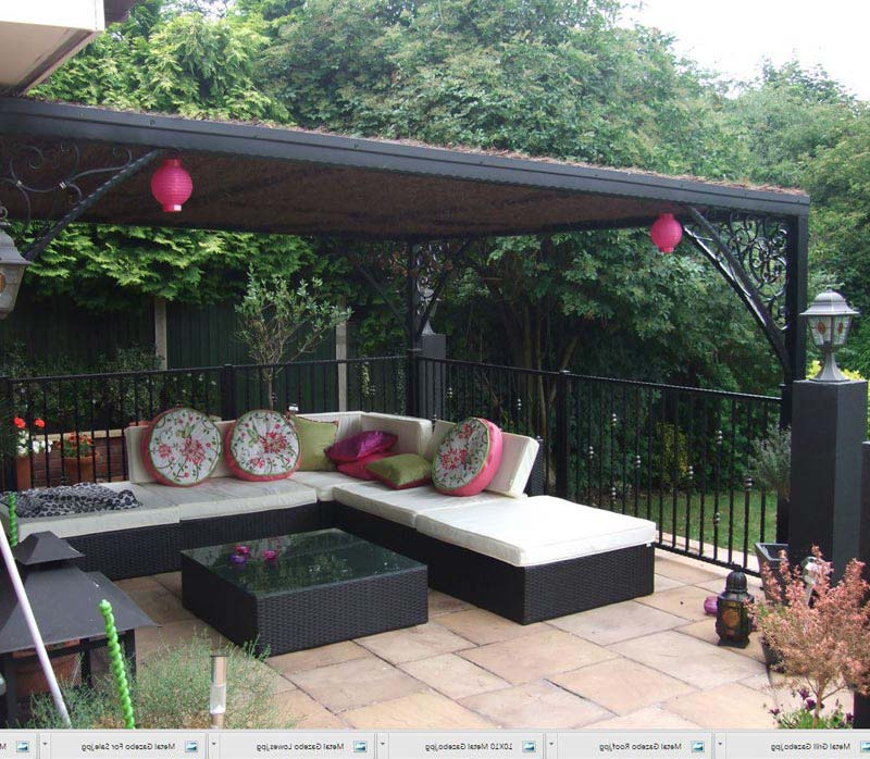 Metal Gazebo Canopy
