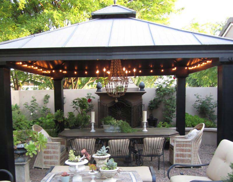 Metal Gazebo Costco